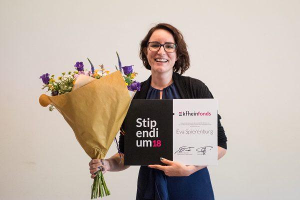 Eva Spierenburg wint het K.F. Hein Stipendium 2018. Foto: Anna van Kooij